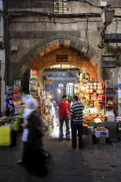 SY01295 Syria, Damascus, Old, Town, Spice Souq