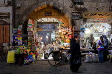 SY01296 Syria, Damascus, Old, Town, Spice Souq