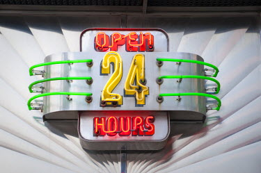 US01813 USA, Manhattan, Midtown, Tic Toc Diner