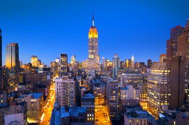US01800 USA, Manhattan, Midtown, Empire State Building