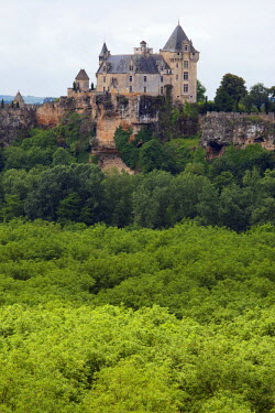 FRA6674AW A french castle in Montfort overlooking the Dordogne River near Sarlat France