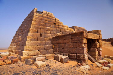 SUD1160 Sudan, Begrawiya. The ancient Nubian Pyramids.