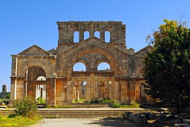SY1303 Syria, Aleppo. The monastery of St Simeon.