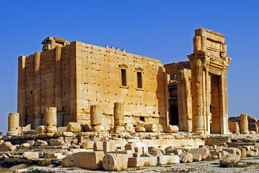 SY1307 Syria, Palmyra. The Temple of Bel.