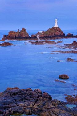 UK05068 Corbiere Lighthouse, Jersey, Channel Islands, UK