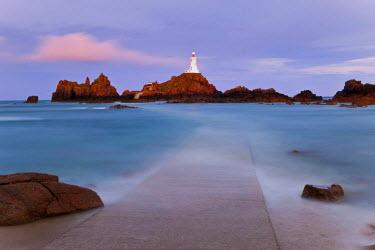 UK05069 Corbiere Lighthouse, Jersey, Channel Islands, UK
