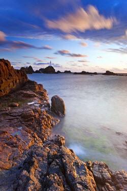 UK05066 Corbiere Lighthouse, Jersey, Channel Islands, UK