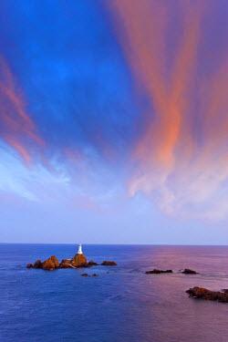 UK05058 Corbiere Lighthouse, Jersey, Channel Islands, UK