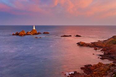 UK05059 Corbiere Lighthouse, Jersey, Channel Islands, UK