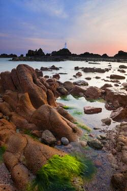 UK05054 Corbiere Lighthouse, Jersey, Channel Islands, UK