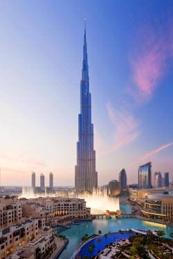 UE01313 United Arab Emirates (UAE), Dubai, The Burj Khalifa