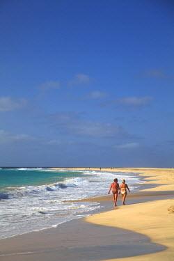 CV01002 Cape Verde, Sal, Santa Maria Beach