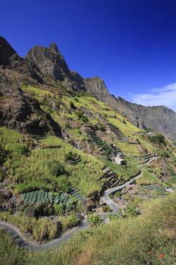 CV01052 Cape Verde, Santo Antao, Ribeira do Paul (Paul Valley)