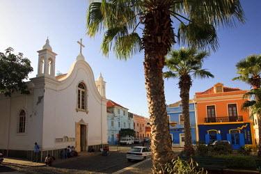 CV01041 Cape Verde, Sao Vicente, Mindelo, Colonial Architecture
