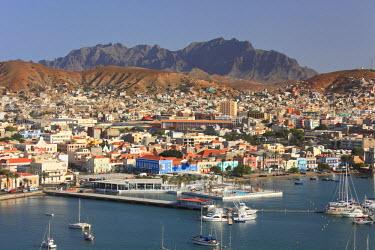CV01047 Cape Verde, Sao Vicente, Mindelo, Harbour