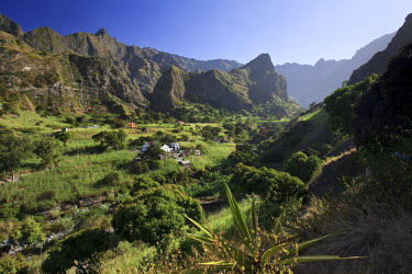 CV01056 Cape Verde, Santo Antao, Ribeira do Paul (Paul Valley)