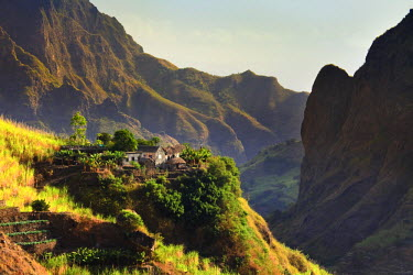 CV01078 Cape Verde, Santo Antao, Ribeira do Paul (Paul Valley)