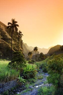 CV01077 Cape Verde, Santo Antao, Ribeira do Paul (Paul Valley)
