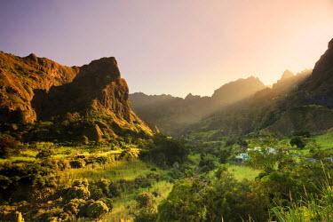 CV01061 Cape Verde, Sao Antao, Ribeira do Paul (Paul Valley)