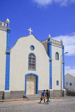CV01113 Cape Verde, Boavista, Town of Sal Rei
