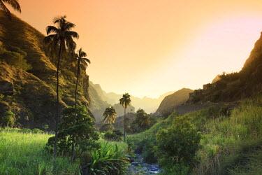 CV01076 Cape Verde, Santo Antao, Ribeira do Paul (Paul Valley)