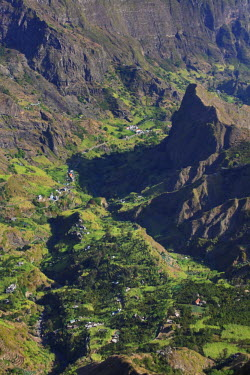 CV01069 Cape Verde, Santo Antao, Ribeira do Paul (Paul Valley)