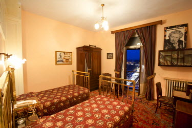 TK01268 Pera Palas Hotel, Istanbul. Room 411 where Agatha Christie stayed. (PR)