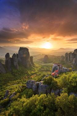 GR06175 Greece, Thessaly, Meteora, Holy Monastery of Rousanou