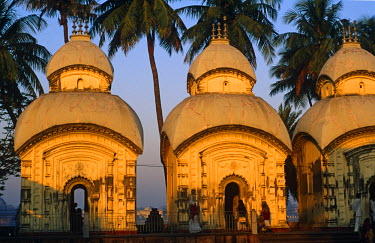 IND5882 Dakshineswar Kali Temple, Calcutta, West Bengal, India
