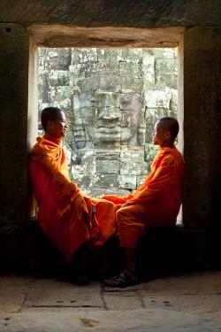 CM01050 The Bayon Temple, Angkor Wat, Siem Reap, Cambodia