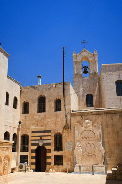 SY015RF Syria, Aleppo, The Old Town (UNESCO Site), Armenian Cathedral of the 40 Martyrs