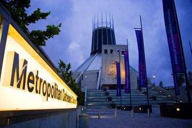 ENG9547 Metropolitan Catholic Cathedral, Mount Pleasant, Liverpool, Merseyside, England.