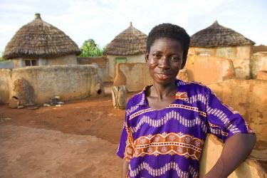 AF19_PBO0027 Woman, Bowku Village, Ghana