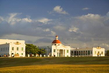 CA27_JME0046 Puerto Rico, Old San Juan.  Government builidings near El Morro fort.