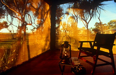 AUS1231 Australia, Northern Territory, nr Kakadu National Park and Mary River National Park. Safari suites at Bamarru Plains.