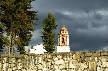 SA13_PLA0334 Mexico, Hueyapan. Dominican Convent of Santo Domingo