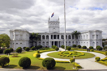 SA16_MME0063 Palacio de los Lopez: House of Senate.Asuncion is the capital of Paraguay.