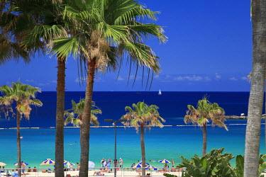 ES09108 Canary Islands, Gran Canaria, Puerto Rico, Playa de Los Amadores