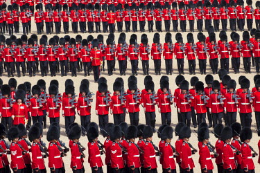 TPX18212 UK, England, London, Trooping the Colour Ceremony at Horse Guards Parade Whitehall