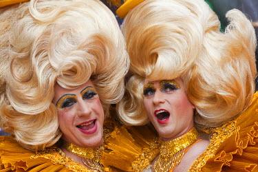 TPX18846 England, London, Gay Pride Festival, Drag Queens