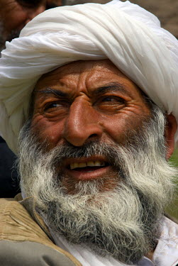 AR9677500009 The head of Char Manar village in Gulran District in the northwest part of Herat Province, Afghanistan