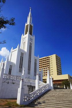 MOZ1510AW Cathedral of Nossa Senhora de Conceicao, Maputo, Mozambique