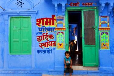 IN02172 Blue city, Jodhpur, Rajasthan, India