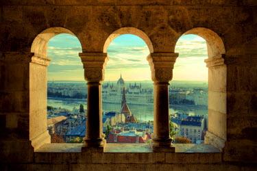 HU01270 Hungary, Budapest, Fisherman's Bastion