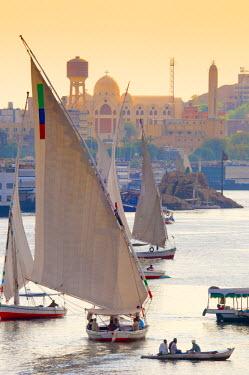 EG03118 Egypt, Upper Egypt, Aswan, River Nile