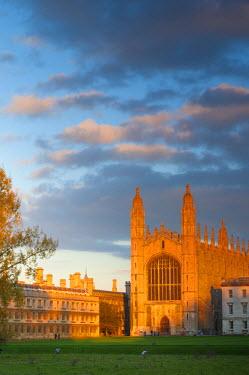 UK07021 UK, England, Cambridgeshire, Cambridge, The Backs, King's College Chapel
