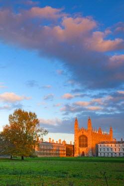UK07022 UK, England, Cambridgeshire, Cambridge, The Backs, King's College Chapel