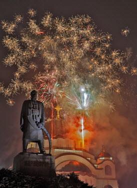 AR3233600001 Serbian New Year, Belgrade, Serbia