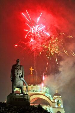 AR3233600002 Serbian New Year, Belgrade, Serbia