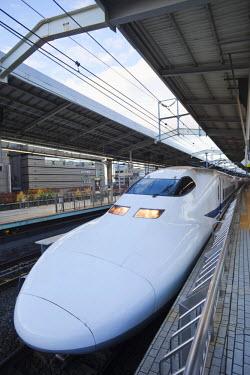 TPX20881 Japan, Kyoto Station, Shinkansen Train